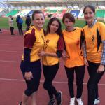 Первенство АГУ по легкой атлетике среди первых курсов