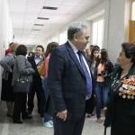 Ветератов ВОВ встретили в АГУ